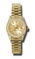 Rolex Lady Datejust 179158CDP Ladies Automatic Luxury Watches