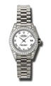 Rolex Lady Datejust 179159WRP Ladies 18k White Gold Diamond Luxury Watches