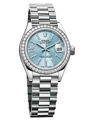 Rolex Lady Datejust 279136IBLSRDP Ladies Ice Blue Luxury Watches