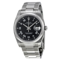 Rolex Oyster Perpetual 115200BKRO Mens 34 mm Luxury Watches