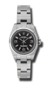 Rolex Oyster Perpetual No Date 176200BKPSAO Ladies Casual Watches