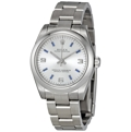 Rolex Oyster Perpetual No Date 177200SABLSO Unisex Automatic Luxury Watches