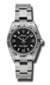 Rolex Oyster Perpetual No Date 177234BKAPSO Stainless Steel Luxury Watches