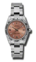 Rolex Oyster Perpetual No Date 177234PASO Unisex 31 mm Luxury Watches