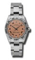 Rolex Oyster Perpetual No Date 177234PRDO Ladies 31mm Casual Watches