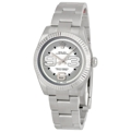 Rolex Oyster Perpetual No Date 177234SMAXI Unisex Stainless Steel Luxury Watches