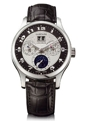 Silver and Black Chopard L.U.C. 161894-9001 Luxury Watches Mens