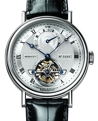 Silver Breguet Classique Complications 5317PT/12/9V6 Luxury Watches Mens