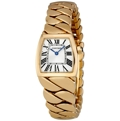 Silver Guilloche Cartier La Dona de Cartier W6601006 Dress Watches Ladies
