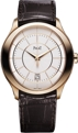 Silver Guilloche Piaget Gouverneur GOA37110 Luxury Watches Mens