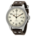 Silver Hamilton Khaki H60515593 Casual Watches Mens