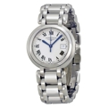 Silver Longines PrimaLuna L8.112.4.71.6 Dress Watches Ladies