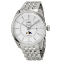Silver Oris Artix 01 915 7643 4051 07 8 21 80 Luxury Watches Mens