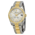 Silver Rolex 178343SRDO Luxury Watches Ladies