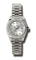 Silver Rolex Datejust 179179SDP Casual Watches Ladies