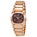 Tissot T-Trend Collection T009.110.33.297.00 Ladies Pink Gold PVDStainless Steel Casual Watches