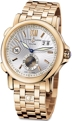 Ulysse Nardin GMT Dual Time 246-55-8-31 Silver Sunray Dress Watches
