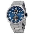 Ulysse Nardin Marine 1183-126-7M/43 Mens Automatic Dress Watches
