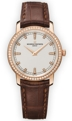 Vacheron Constantin 25558/000R-9406 Ladies Silver Luxury Watches