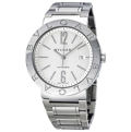 White Bvlgari 101381 Luxury Watches Mens