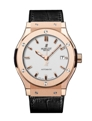 White Hublot Classic Fusion 542.OX.2610.LR Luxury Watches Mens