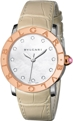 White Mother of Pearl Bvlgari 101895 Luxury Watches Ladies