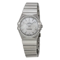 White Mother of Pearl Omega Constellation 123.15.27.60.05.001 Luxury Watches Ladies