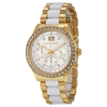 White Sunray Michael Kors Brinkley MK6189 Dress Watches Ladies