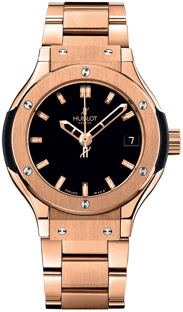 Replica Black Hublot 581.OX.1180.OX Ladies