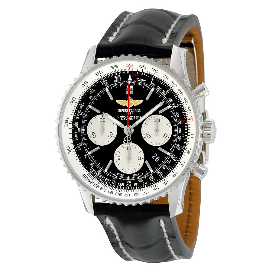Replica Breitling AB012012/BB01BKCD Mens Black Luxury Watches