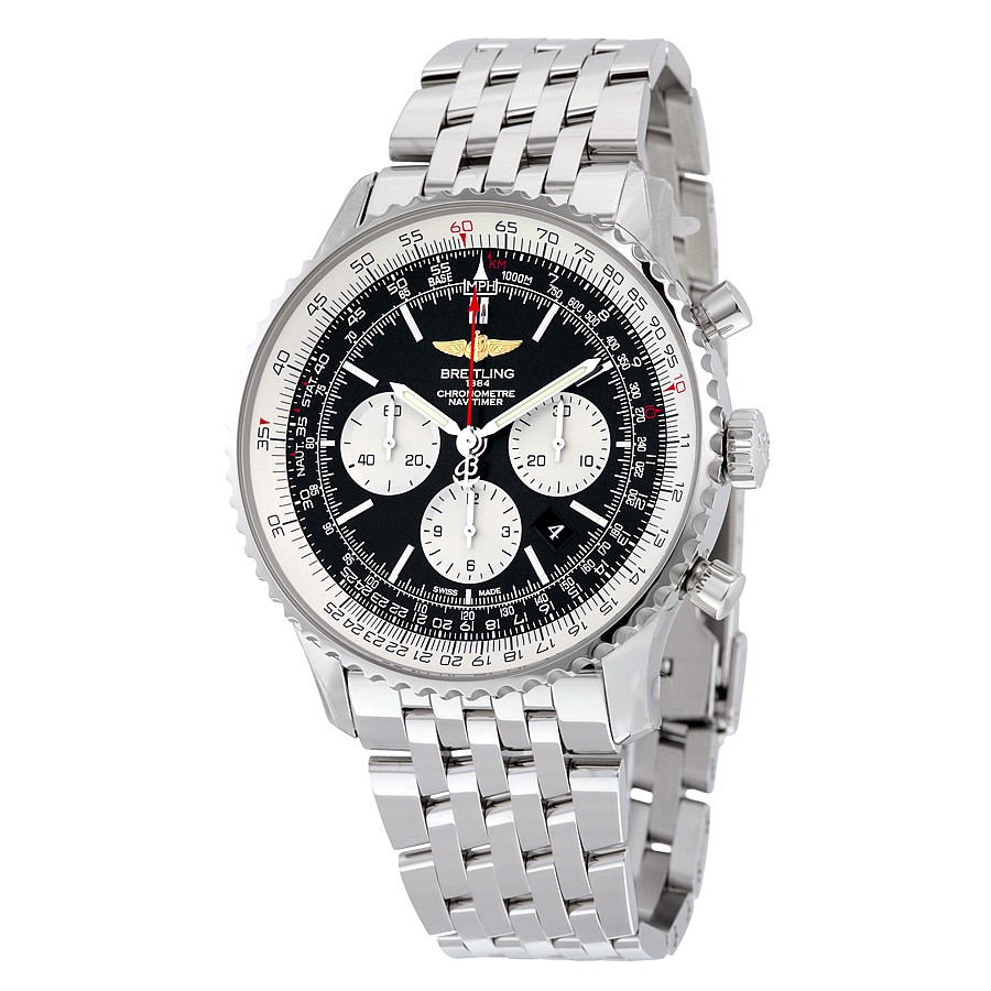 Replica Breitling AB012721-BD09SS Mens 46 mm Luxury Watches