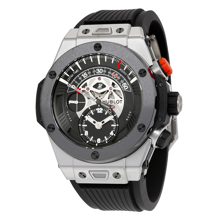 Replica Hublot Big Bang Unico 413.NM.1127.RX Mens Polished and Satin-finished Titanium Luxury Watches