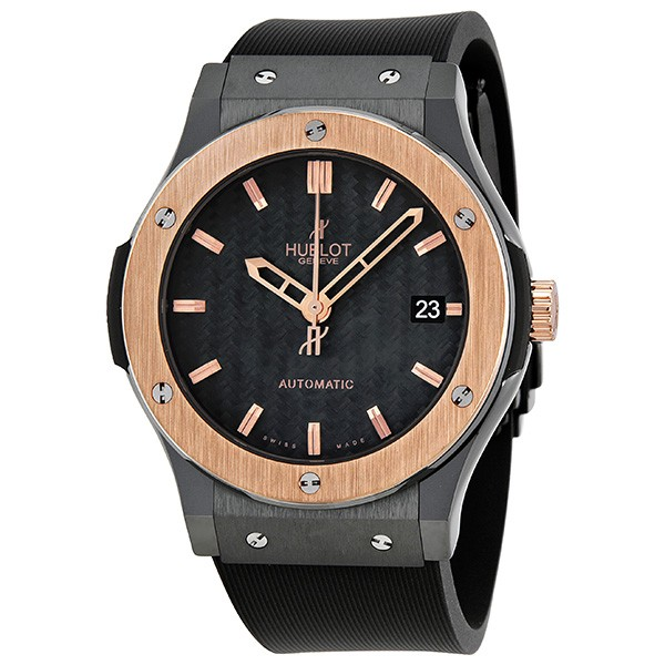 Replica Hublot Classic Fusion 511.CP.1780.RX Mens Black Carbon Fiber Luxury Watches