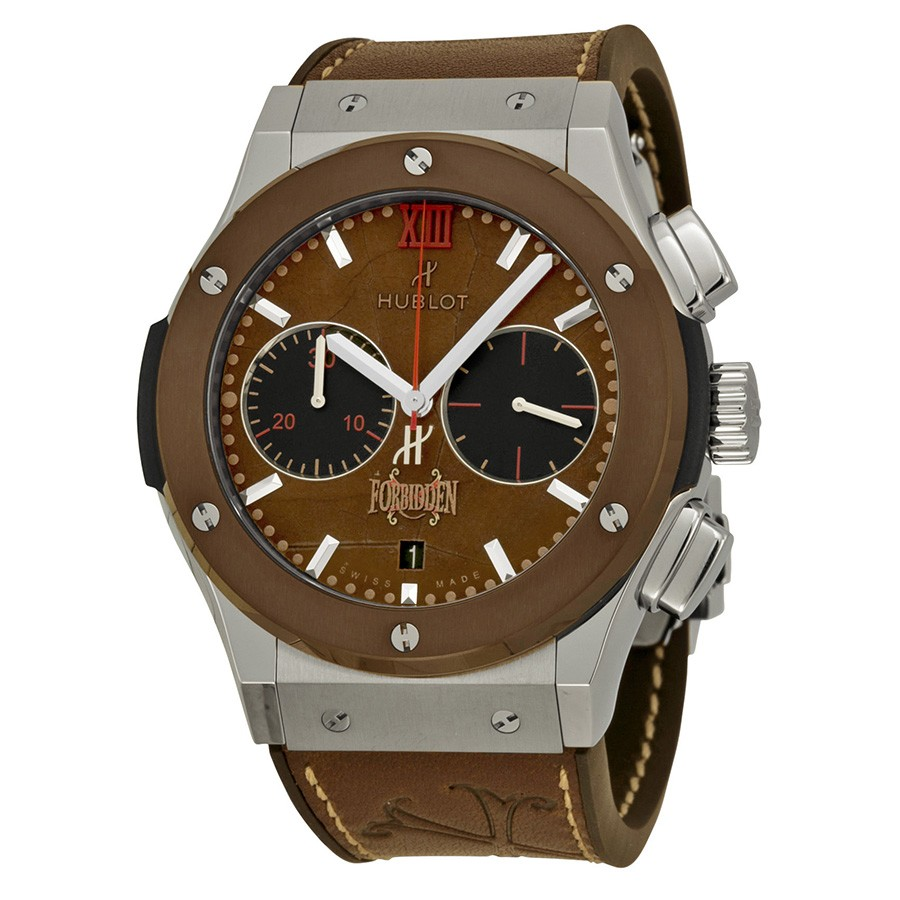 Replica Hublot Classic Fusion 521.NC.0589.VR.OPX14 Mens Geniune Tobacco Leaf Luxury Watches