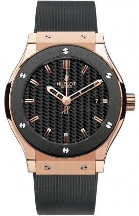Replica Hublot Classic Fusion Mens Carbon Casual Watches