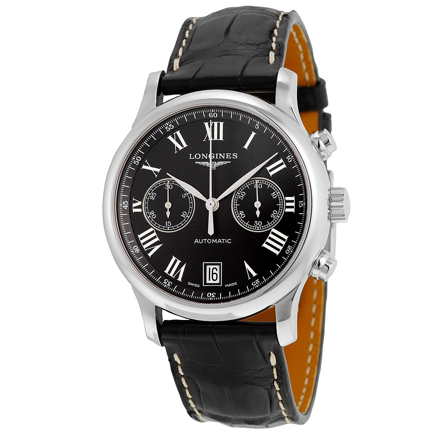 Replica Longines Master Collection L2.669.4.51.7 Black Luxury Watches