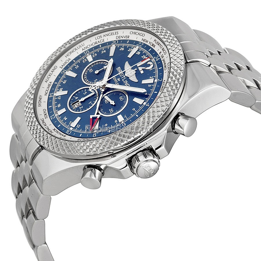 Blue Breitling Breitling For Bentley A4736212/C768 Luxury Watches Mens