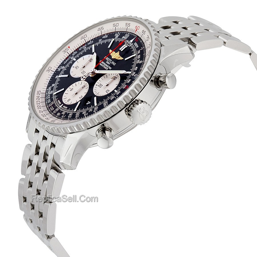 Breitling AB012721-BD09SS Mens 46 mm Luxury Watches