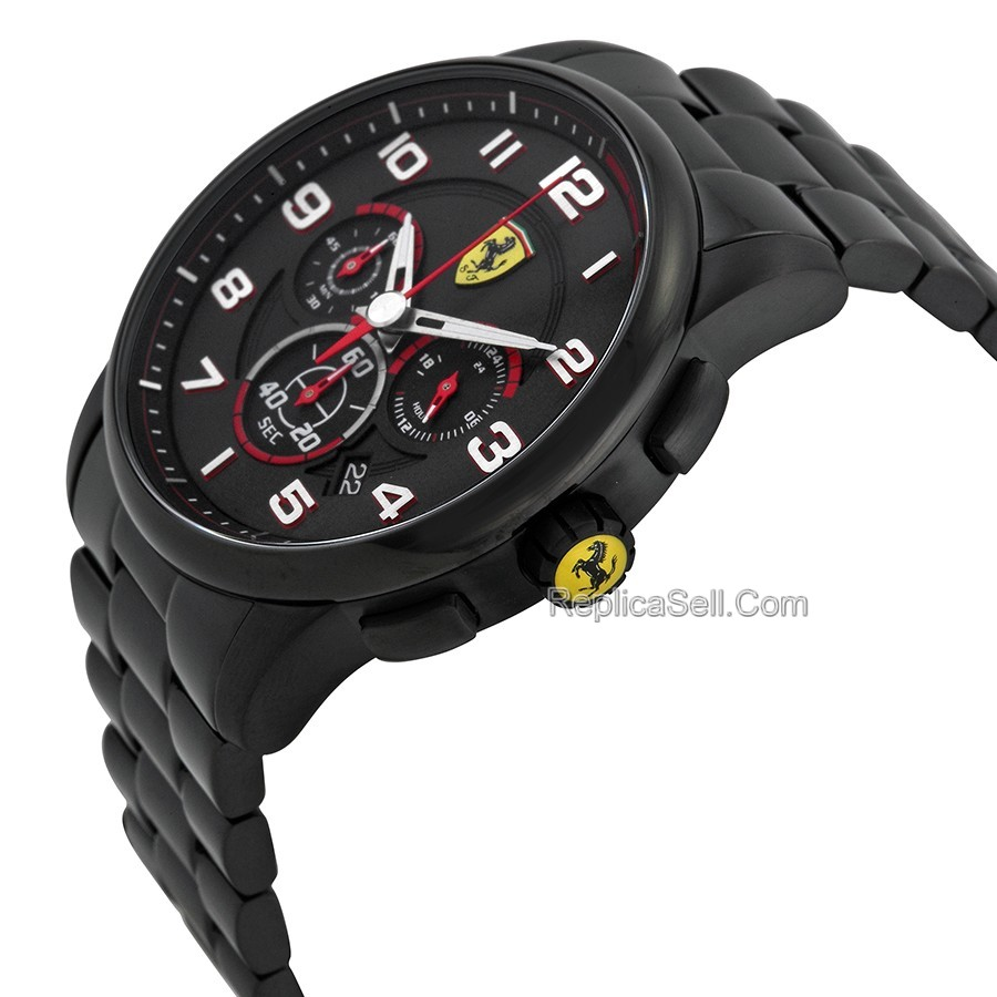 Ferrari 830054 Mens Black Casual Watches