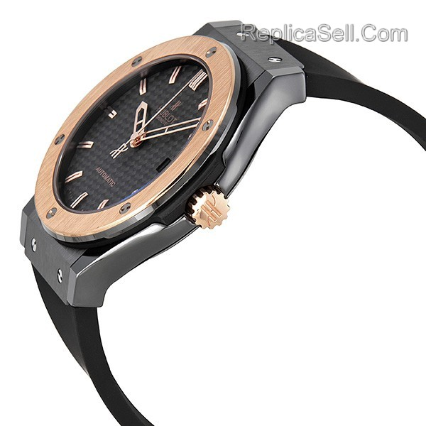 Hublot Classic Fusion 511.CP.1780.RX Mens Black Carbon Fiber Luxury Watches
