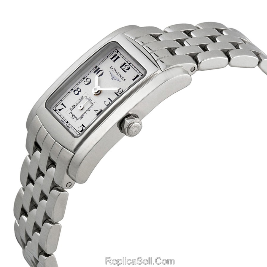 Longines L5.155.4.73.6 Ladies White Luxury Watches
